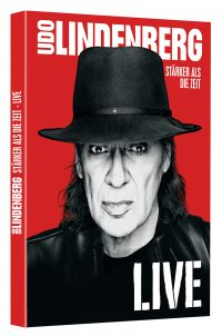 "UDO LINDERBERG - ""Stärker als die Zeit - Live"" - 2DVD (Dolce Rita Recordings / Warner Music Entertainment)"