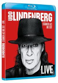 "UDO LINDERBERG - ""Stärker als die Zeit - Live"" - 2Blu-ray (Dolce Rita Recordings / Warner Music Entertainment)"