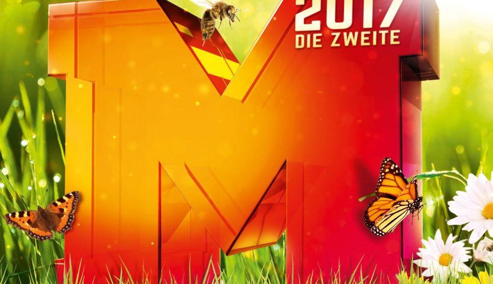 """Various Artists """"Mega Hits 2017 – Die Zweite"""" (Polystar/Universal)"""