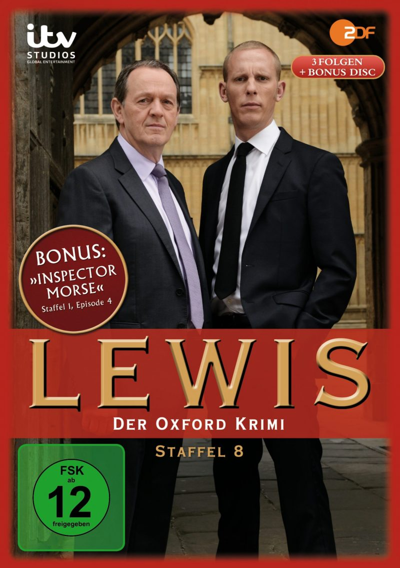 """Lewis – Der Oxford Krimi"" (Edel:Motion, Staffel 8)"