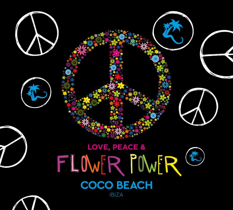 "Various Artists - ""Love, Peace & Flower Power by Coco Beach Ibiza"" (2CDs - Kontor Records)"