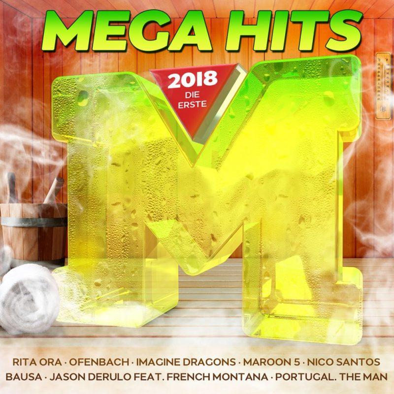 """Various Artists - """"Mega Hits 2018 – Die Erste"""" (Polystar/Universal)"""