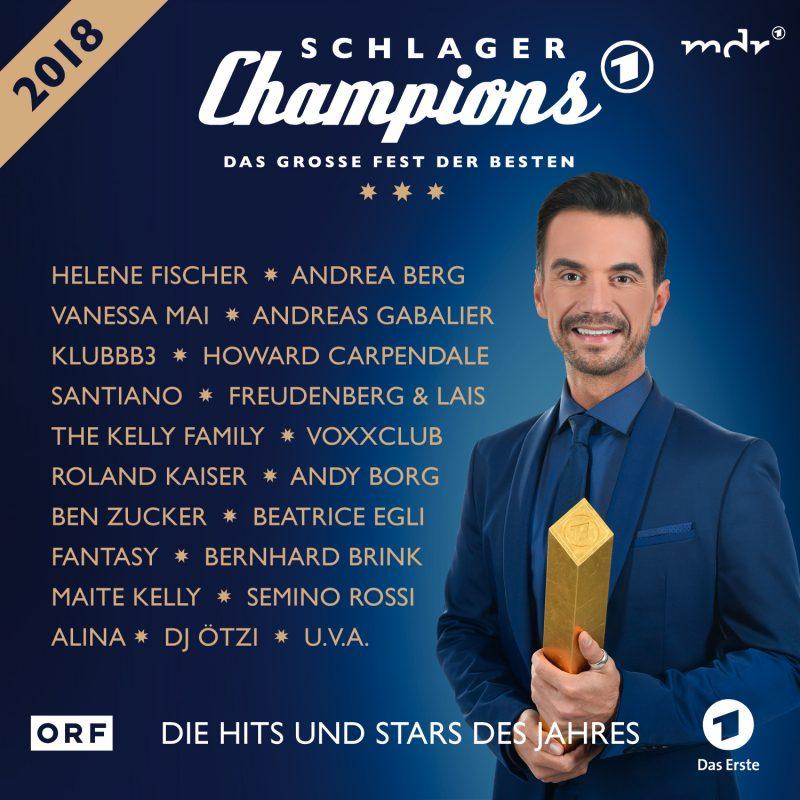 """Various Artists - """"Schlager Champions 2018 – Das Große Fest Der Besten"""" (Polystar/Universal)"""