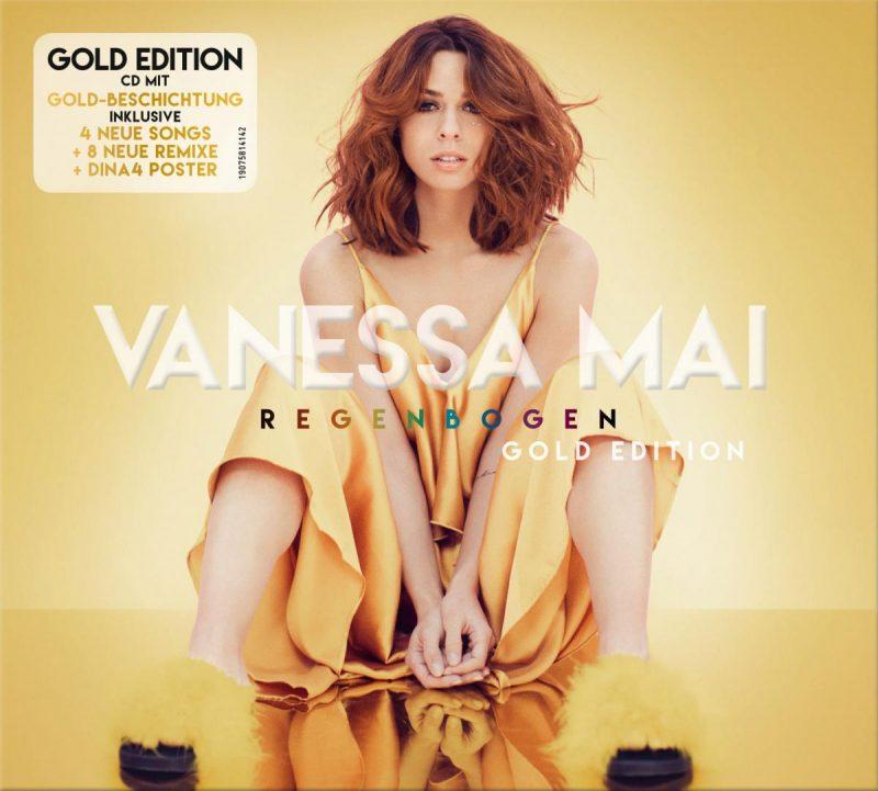 """Vanessa Mai – """"Regenbogen (Gold Edition)"""" (Ariola/Sony Music)"""