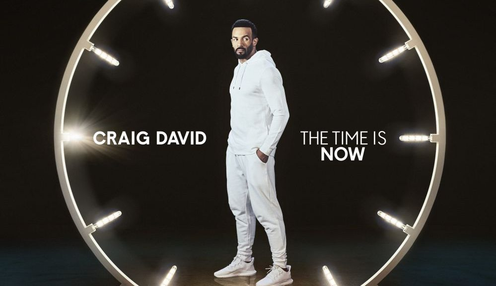 "Craig David - ""The Time Is Now"" (RCA/Sony Music)"