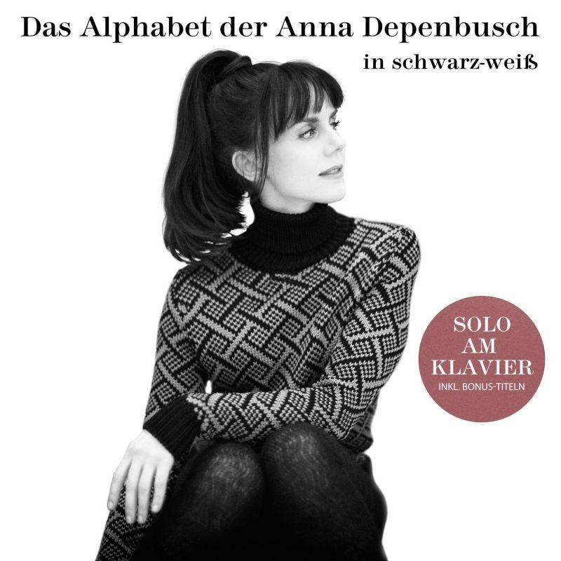"""Anna Depenbusch - """"Das Alphabet Der Anna Depenbusch in Schwarz-Weiß""""  (Columbia/Sony Music)"""