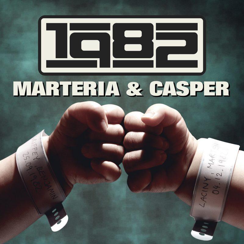 """Marteria & Casper - """"1982"""" (Zwei Bernds Tanken Super/Sony Music Entertainment)"""