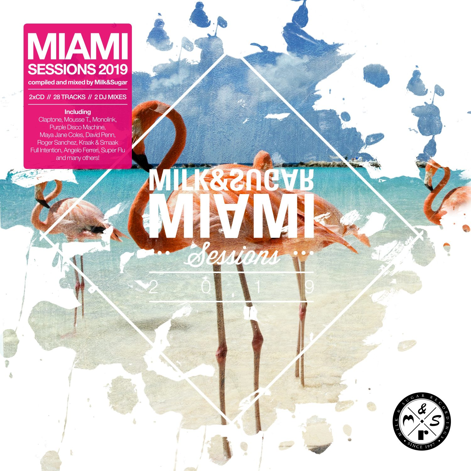 "Various Artists – ""Milk & Sugar – Miami Sessions 2019"" (Milk & Sugar Recordings/SPV)"