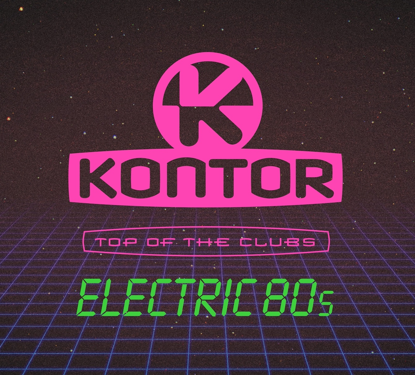 "Various Artists - ''Kontor Top Of The Clubs – Electric 80s"" (Kontor Records)"