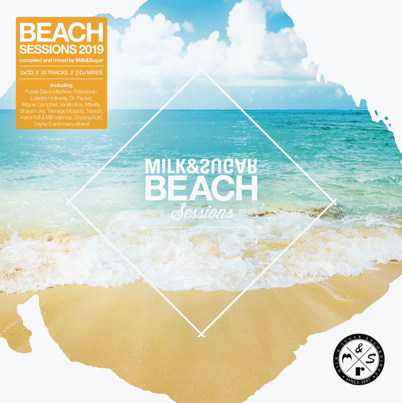 "Various Artists – ""Milk & Sugar – Beach Sessions 2019"" (Milk & Sugar Records/SPV)"