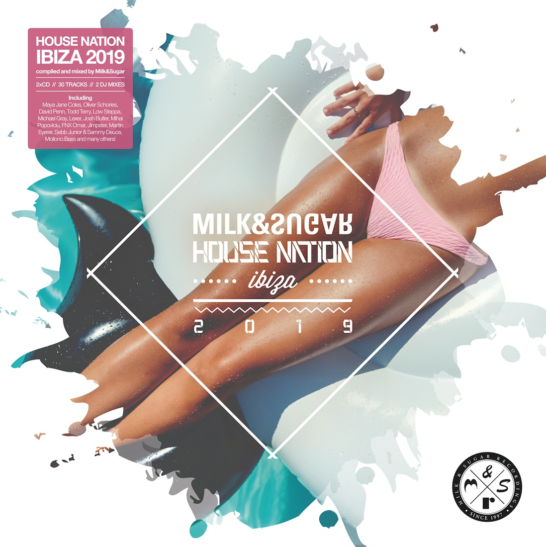 "Various Artists – ""House Nation Ibiza 2019"" (Milk & Sugar Recordings/SPV)"
