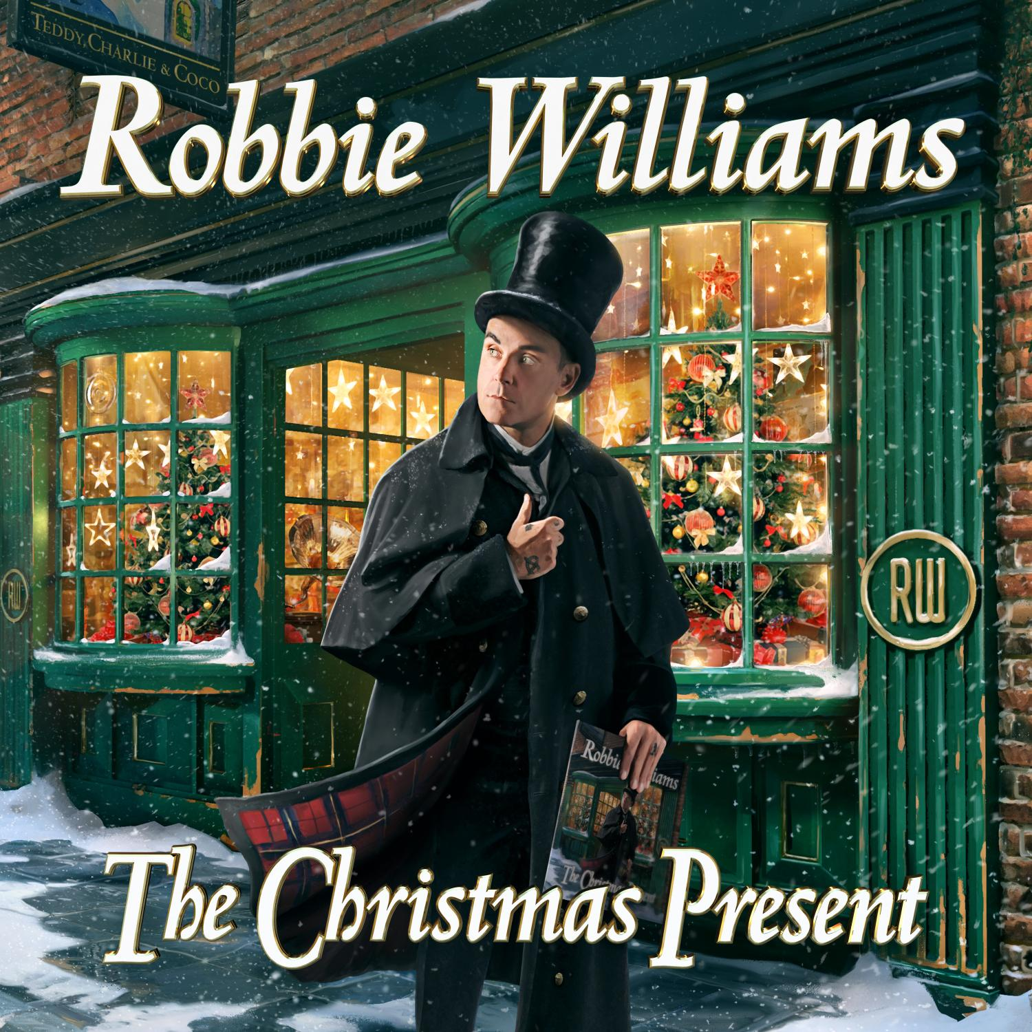 "Robbie Williams - ""The Christmas Present"" (Columbia/Sony Music)"