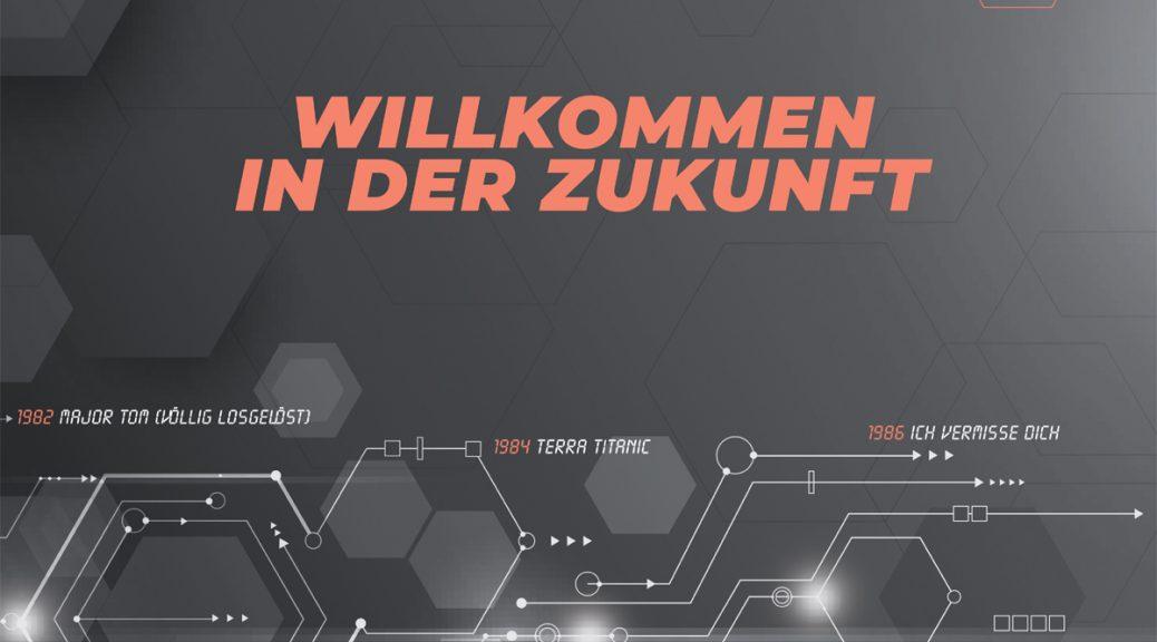 """Peter Schilling - """"Willkommen In Der Zukunft"""" (Da Records/Da Music)"""