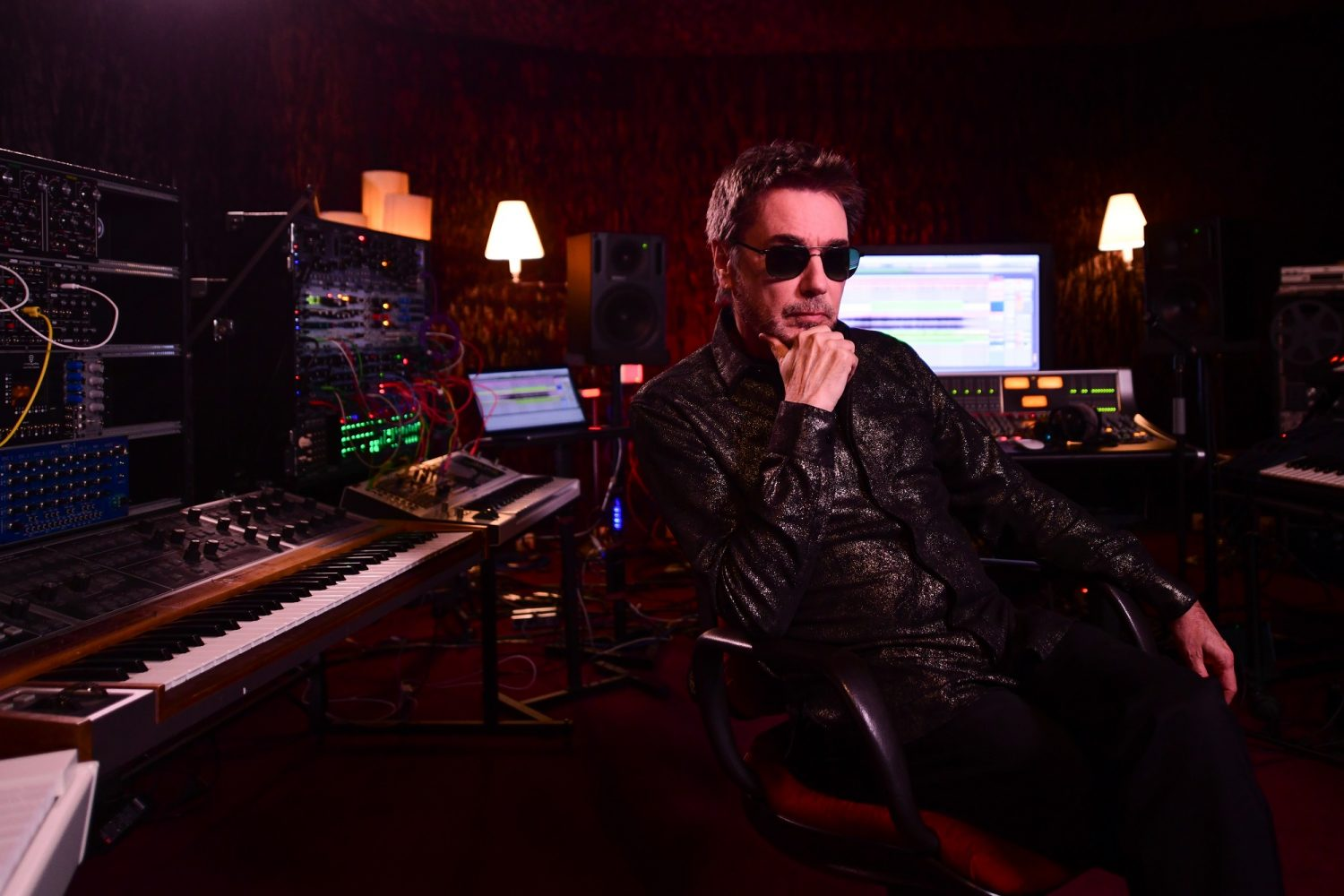 Jean-Michel Jarre by Anthony Ghnassia