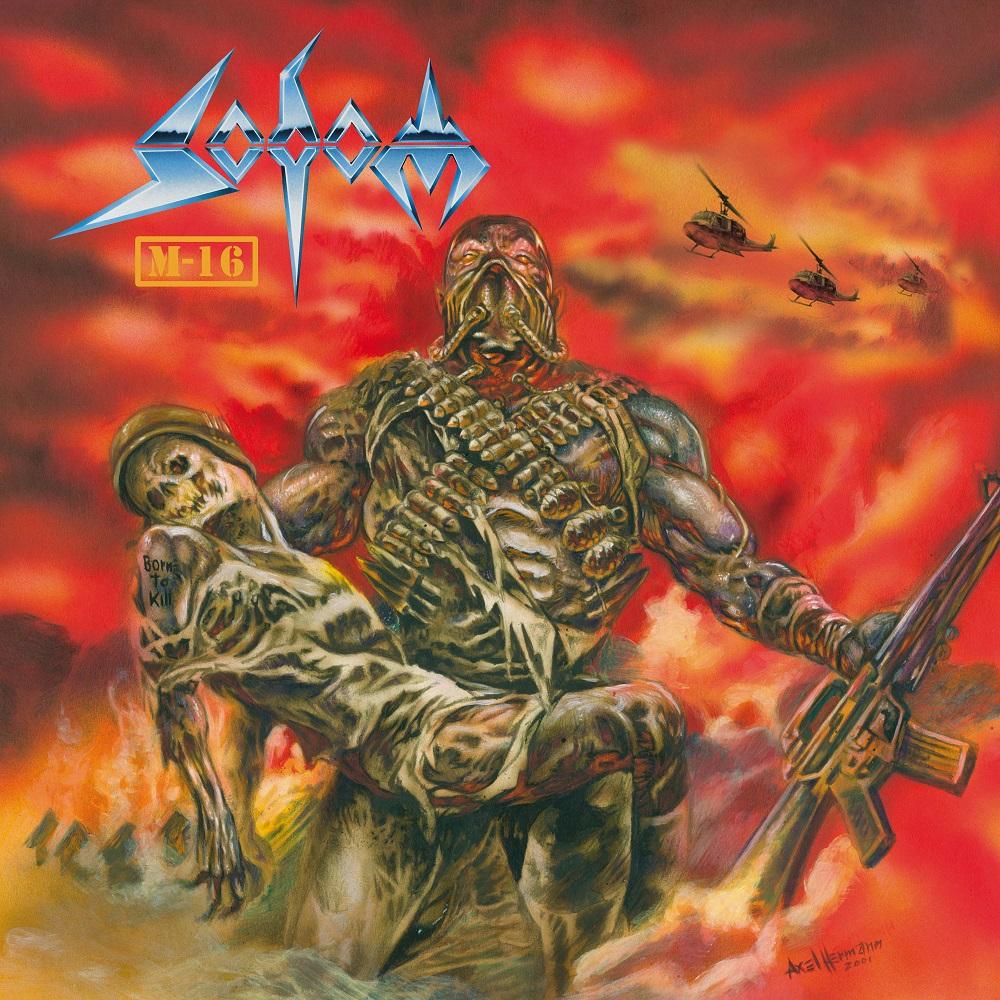 SODOM veröffentlichen M-16 - 20TH Anniversary Edition